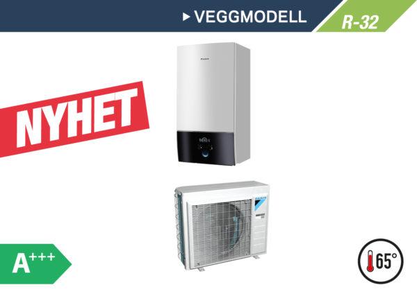 Daikin Altherma 3 Veggmodell