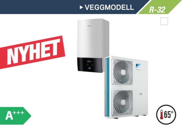 Daikin Altherma 3 Veggmodell 11-16kW