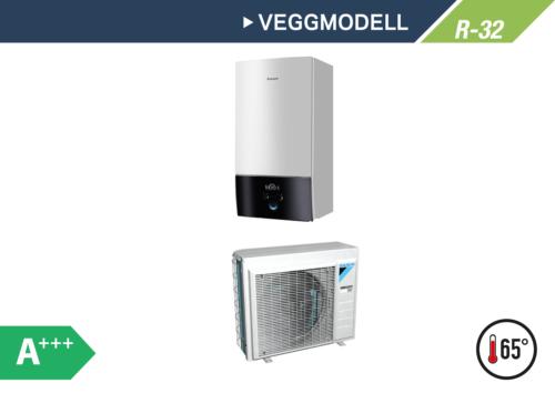 Daikin Altherma 3 Veggmodell 4-8kW